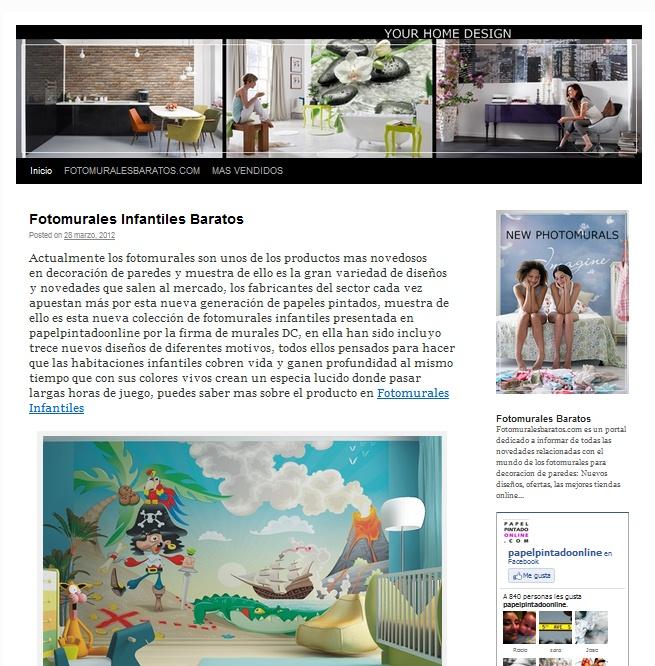 Fotomurales personalizados murales personalizados para for Fotomurales baratos